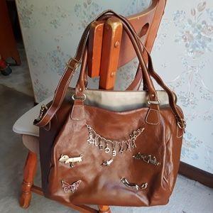 VERY RARE Vera Pelle Italian Leather Bag